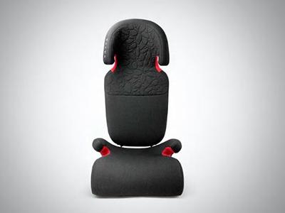 Bälteskudde med avtagbart ryggstöd - läder/nubuck