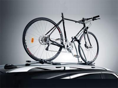 Cykelhållare, rammonterad