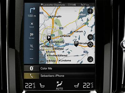 Volvo original Sensus Navigataion Monterat och klart