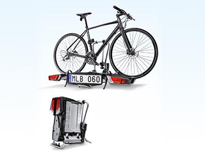 Cykelhållare hopfällbar, dragmonterad