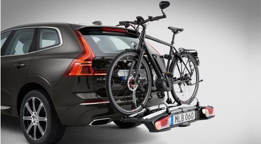 Cykelhållare för drag elcyklar