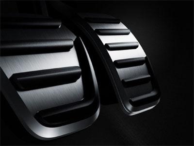 Sportpedaler i Borstad Aluminium Volvo C30, S40 04-,V50 & C70 06-
