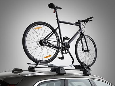 Cykelhållare i aluminium med ramfäste