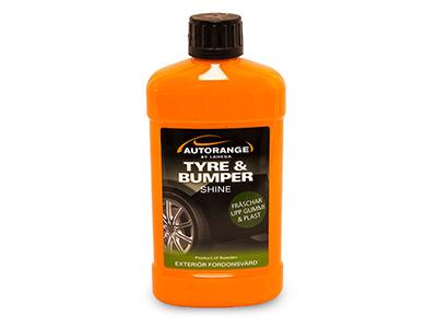 Autorange tyre & bumper cleaner