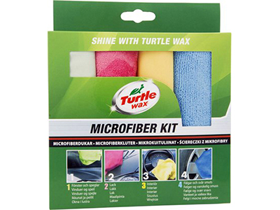 Turtle wax microfiberduk 4-pack