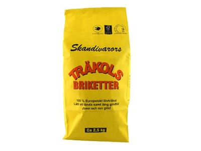 Grillbriketter 2,5 kg 3-pack