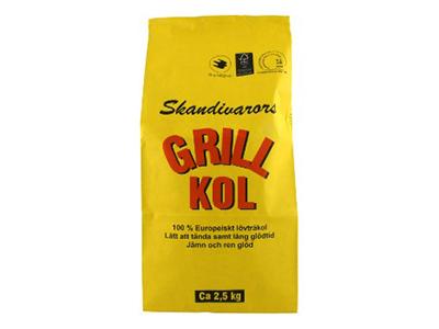Grillkol 2,5 kg 3-pack