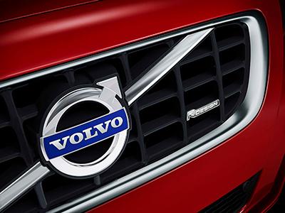 Volvo original Dekal för grillen