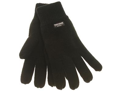 Stickad handske