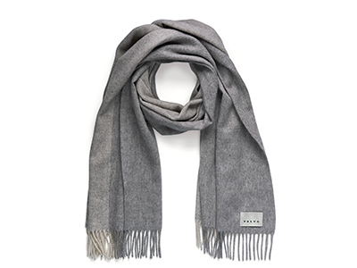 Nordic Scarf Volvo lifestyle collection Light grey
