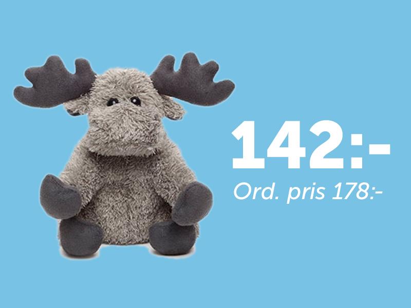 Moose Plush Toy