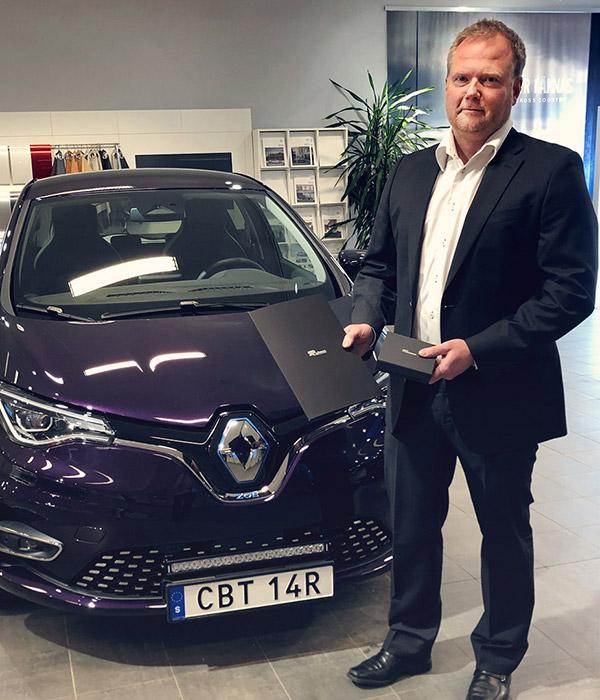 Först ut med nya Renault Zoe